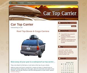 Car Top Carrier Online