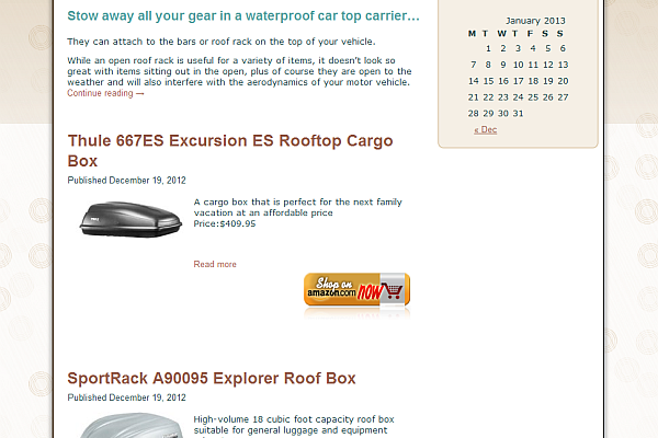 Car Top Carrier Online